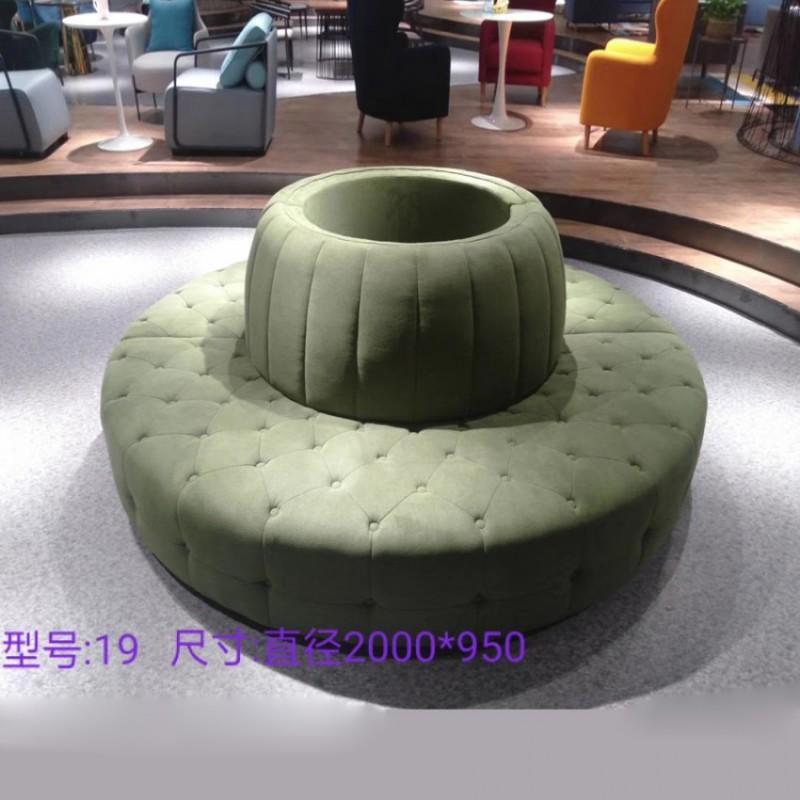 现代风格圆形沙发19
