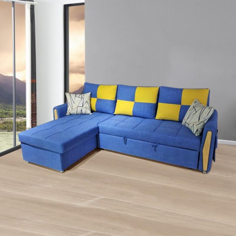小户型转角沙发拉床SF