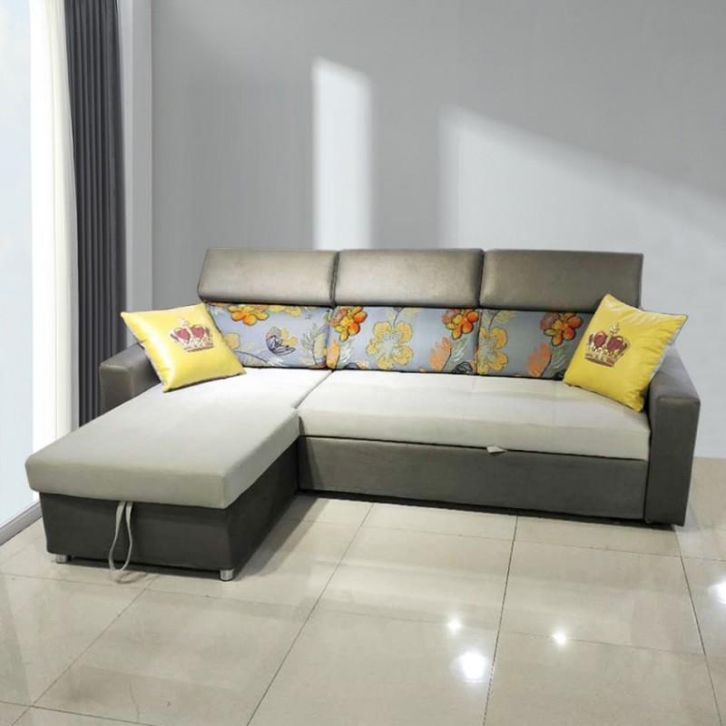 现代简约转角沙发拉床