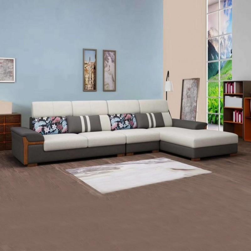 带木线布艺沙发SF-13