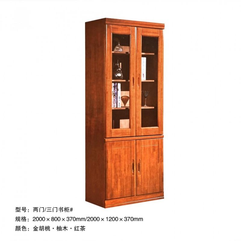 书房家具 两门/三门书柜#