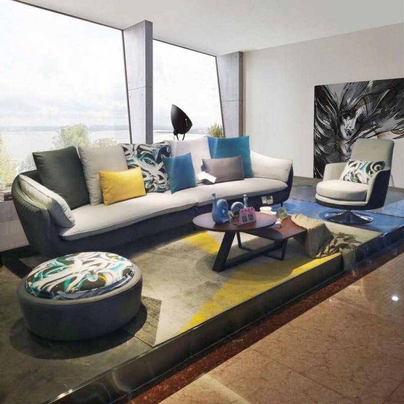 时尚休闲沙发组合沙发