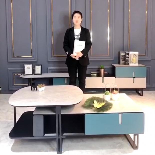 简约伸缩款茶几$Flexible table (5播放)