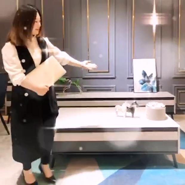现代风茶几电视柜套装$Modern coffee table (1播放)