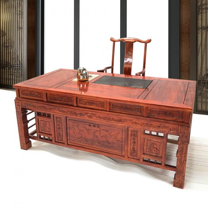 财缘滚滚茶台茶室家具