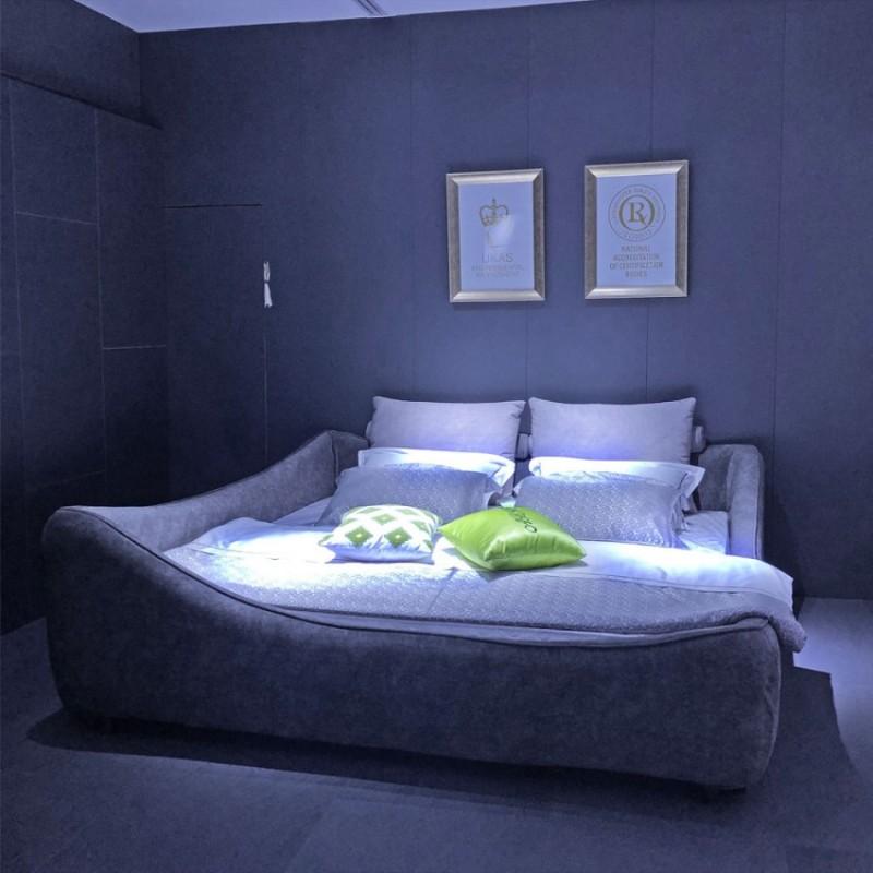 多功能卧室布艺床C-07