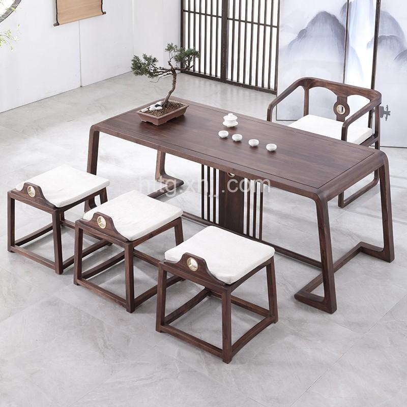 新中式简约实木茶桌 C