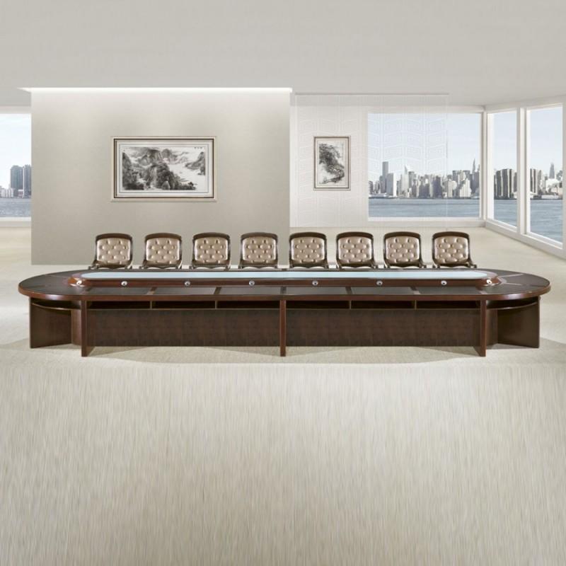 高端油漆会议桌大型会议台HYZ-01
