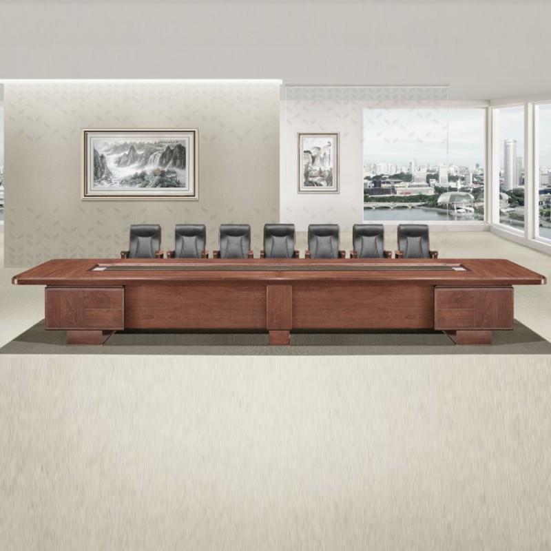 油漆大型会议桌长桌办公会议台HYZ-06