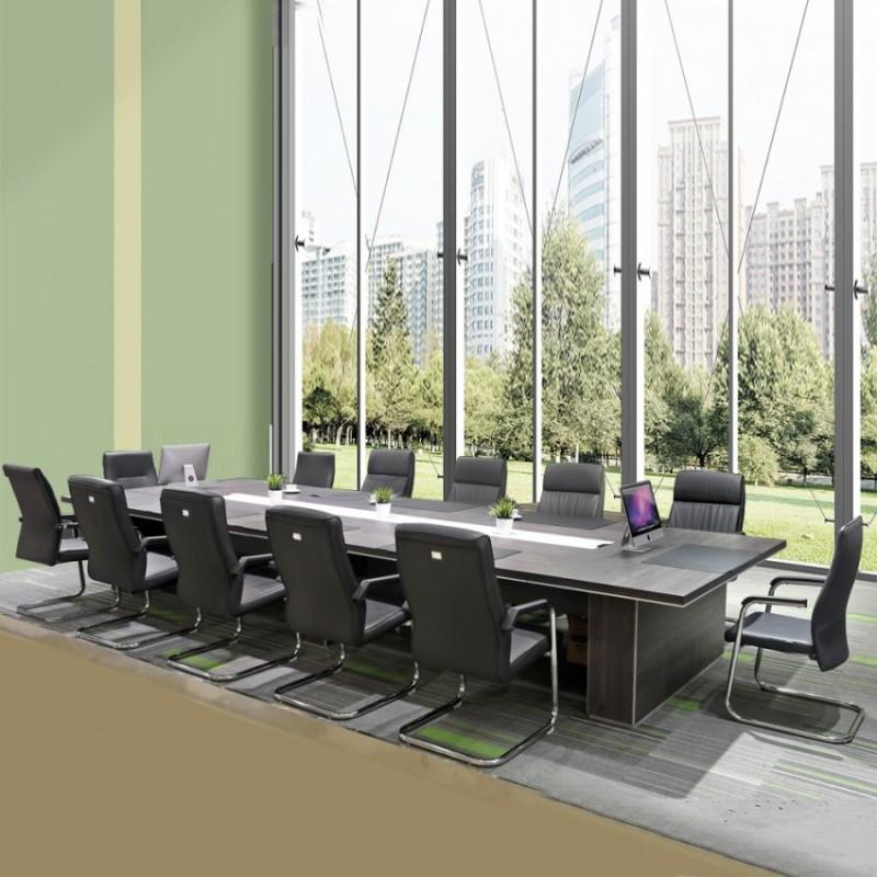 高档板式会议桌洽谈桌 大型会议台8650