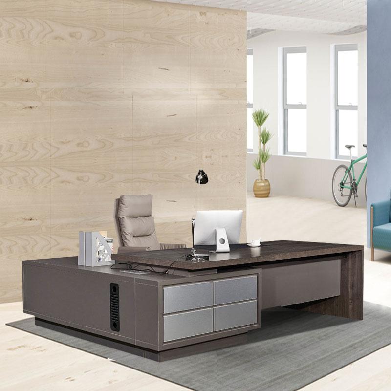 现代时尚总裁办公桌 经理办公桌定制802