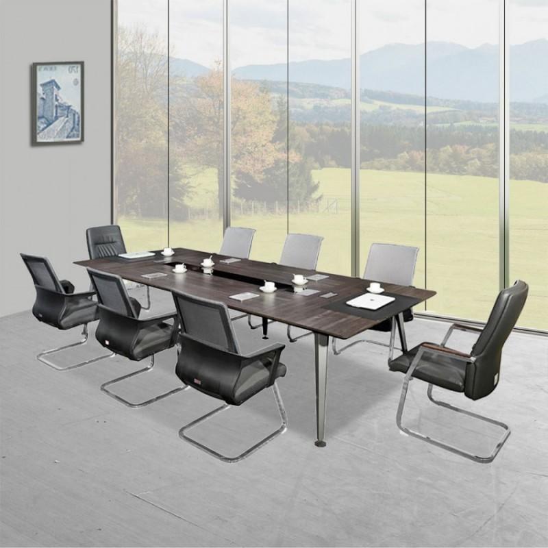 办公板式会议桌 公司开会桌洽谈桌直销8632