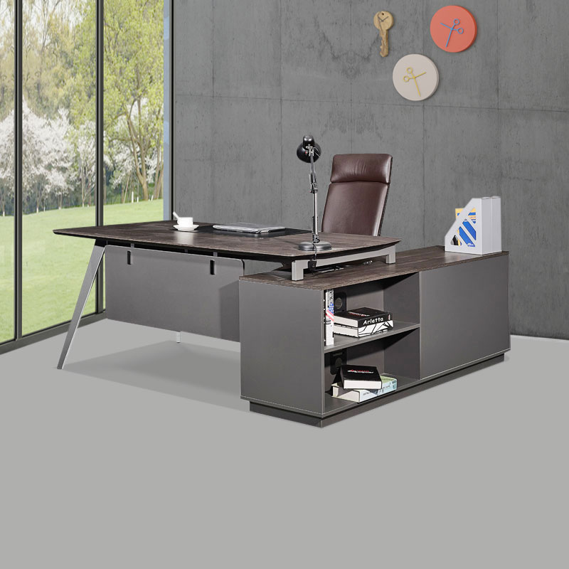老板办公桌 现代板式经理台定制804
