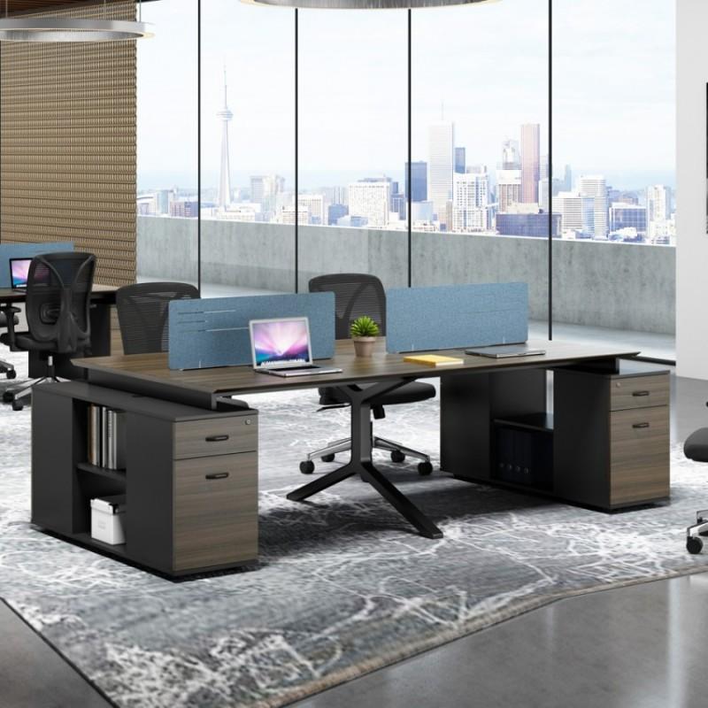 职员办公桌隔断式屏风开放式 PF-03