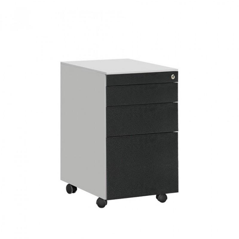 矮柜活动柜三抽柜移动办公柜HDG-30