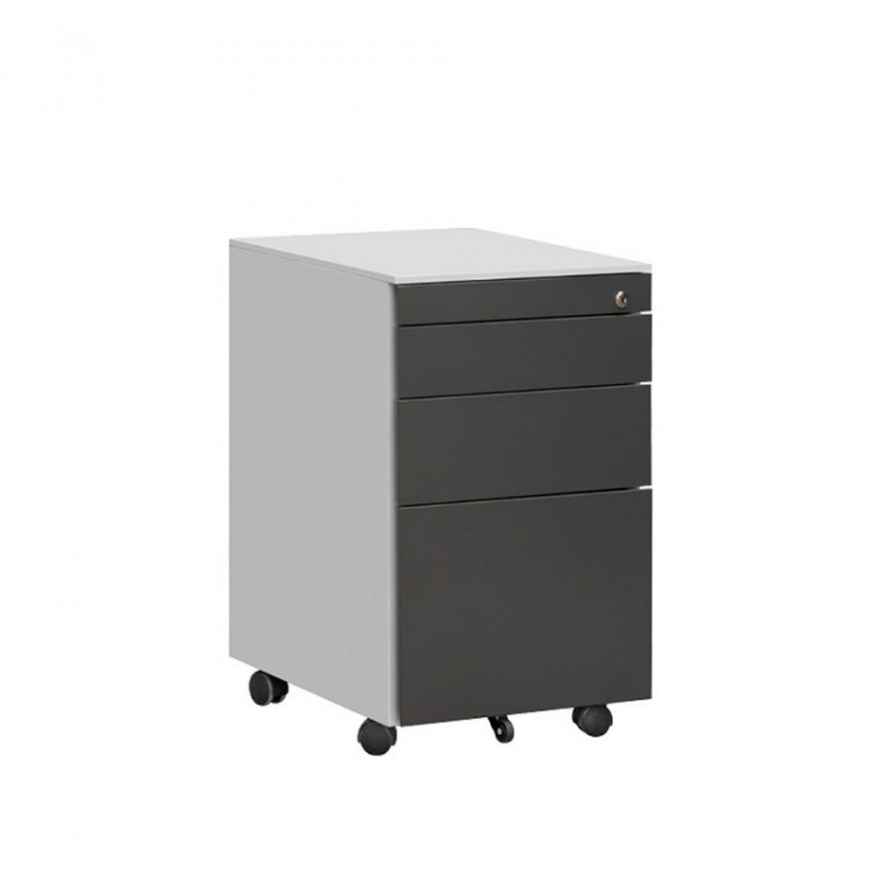移动文件柜 三抽活动柜HDG-28