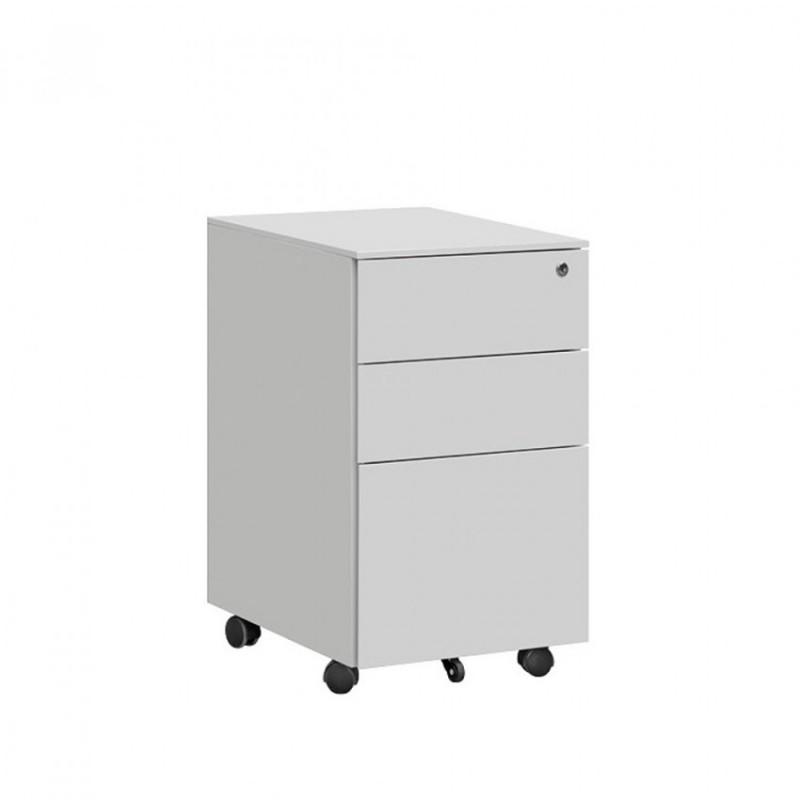 钢制活动柜三抽储物柜HDG-27