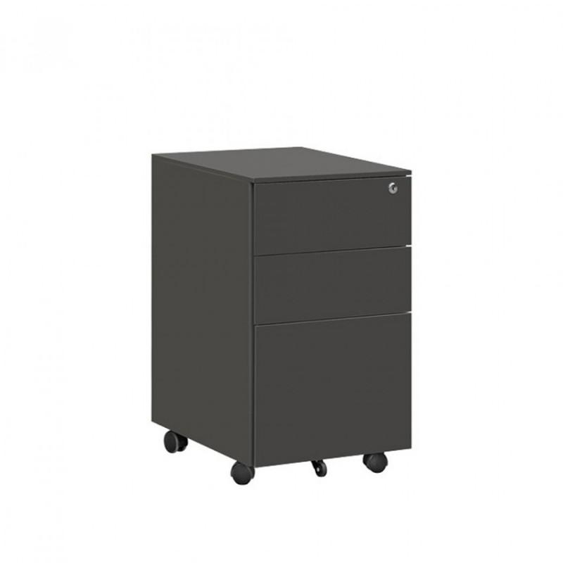 移动收纳柜带锁资料储物柜HDG-25