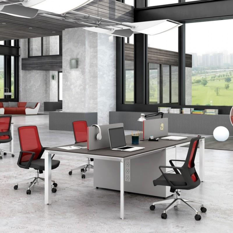 简约办公家具屏风电脑桌 PF-04