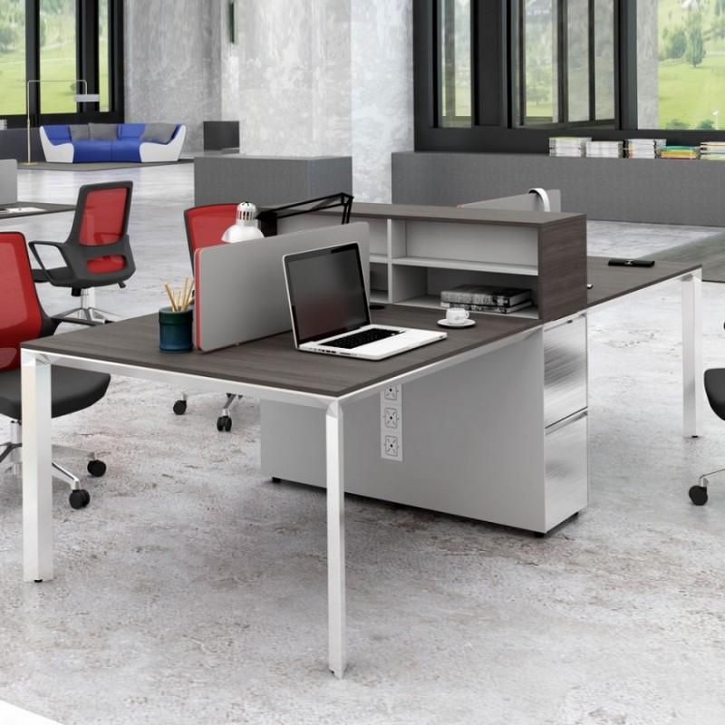 高端办公家具屏风桌位 PF-07