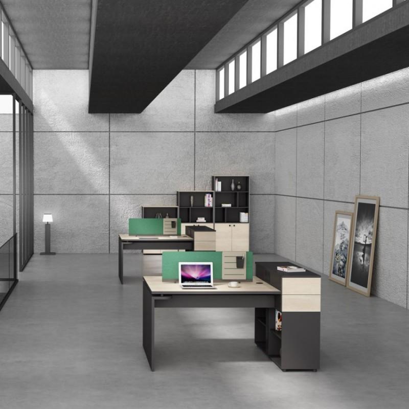 板式现代办公家具屏风工位PF-16