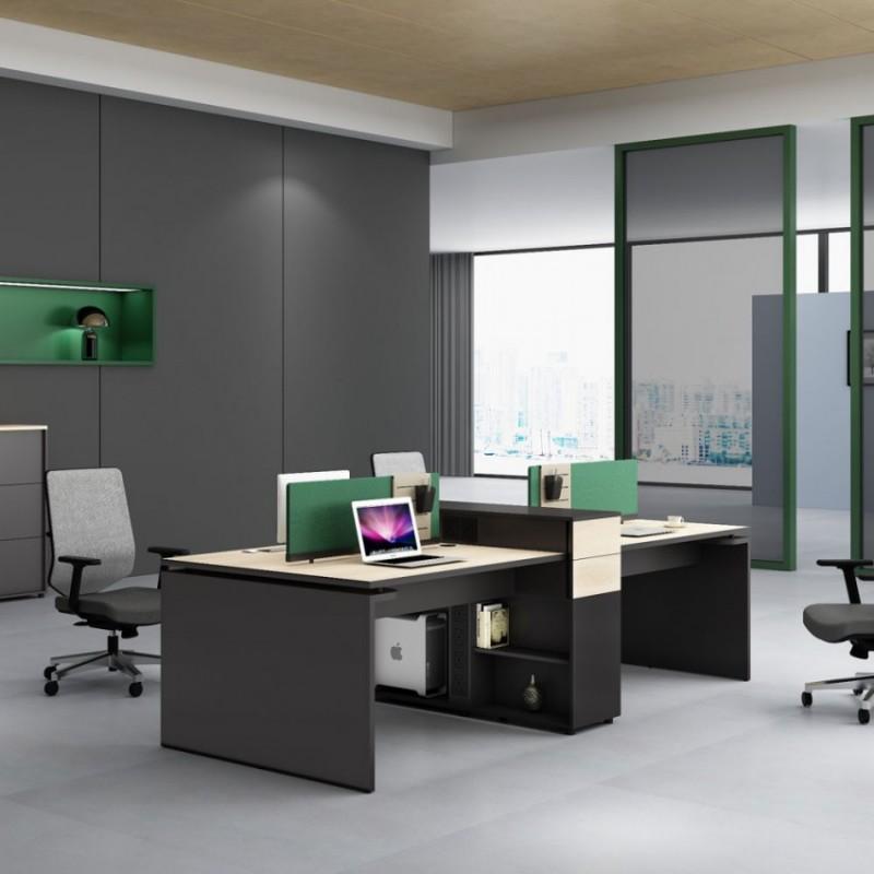 专业生产现代员工电脑桌PF-17