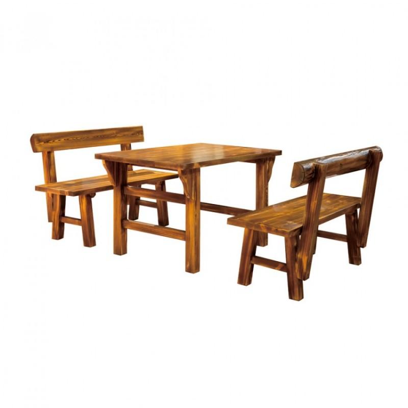 中式餐馆餐桌椅组合BLS-16
