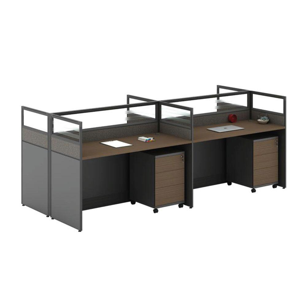 屏风工作位电脑桌PF-03