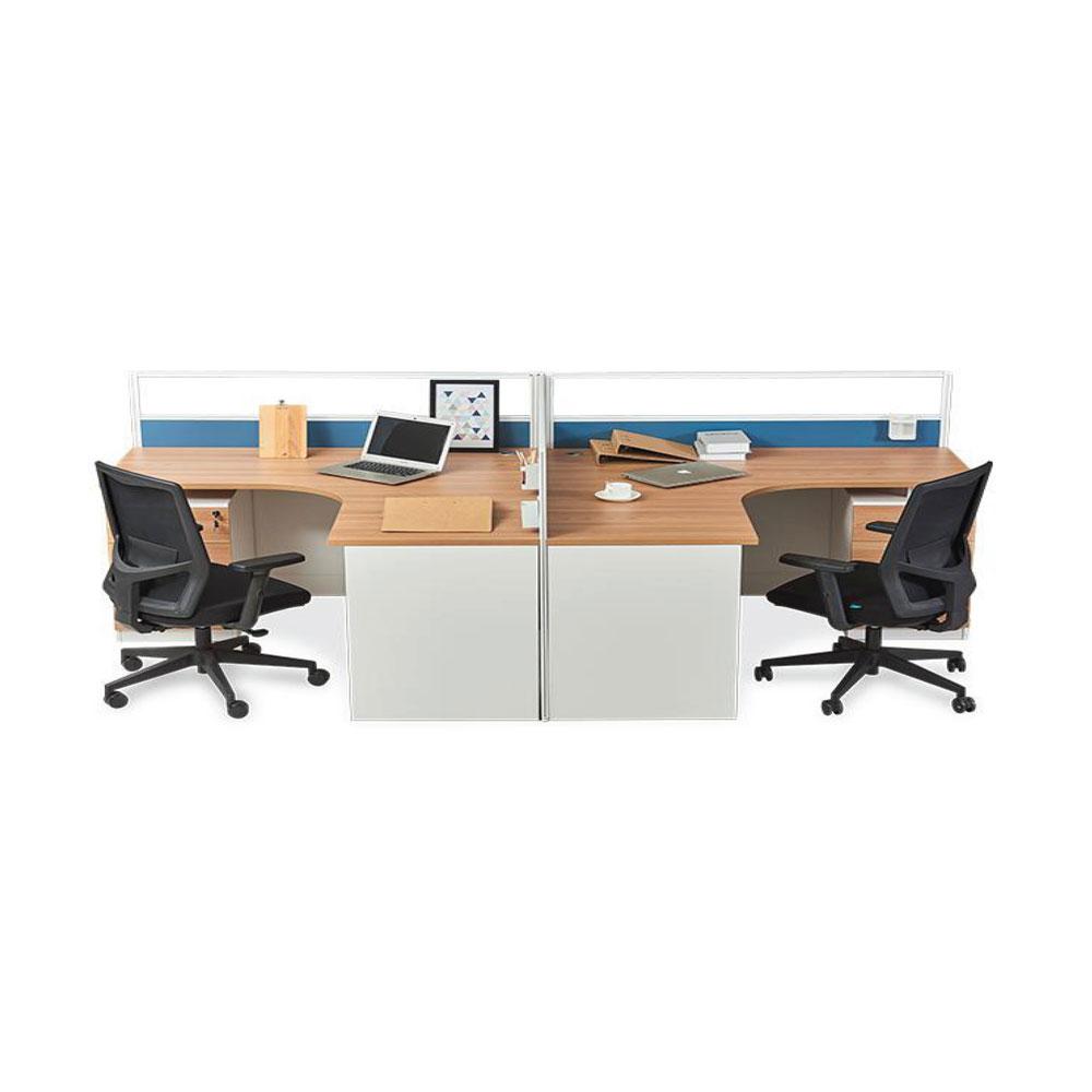 简约现代办公室屏风办公桌PF-17