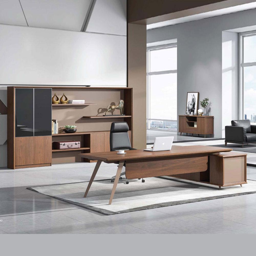 简约现代办公家具总裁桌JLT-33米格