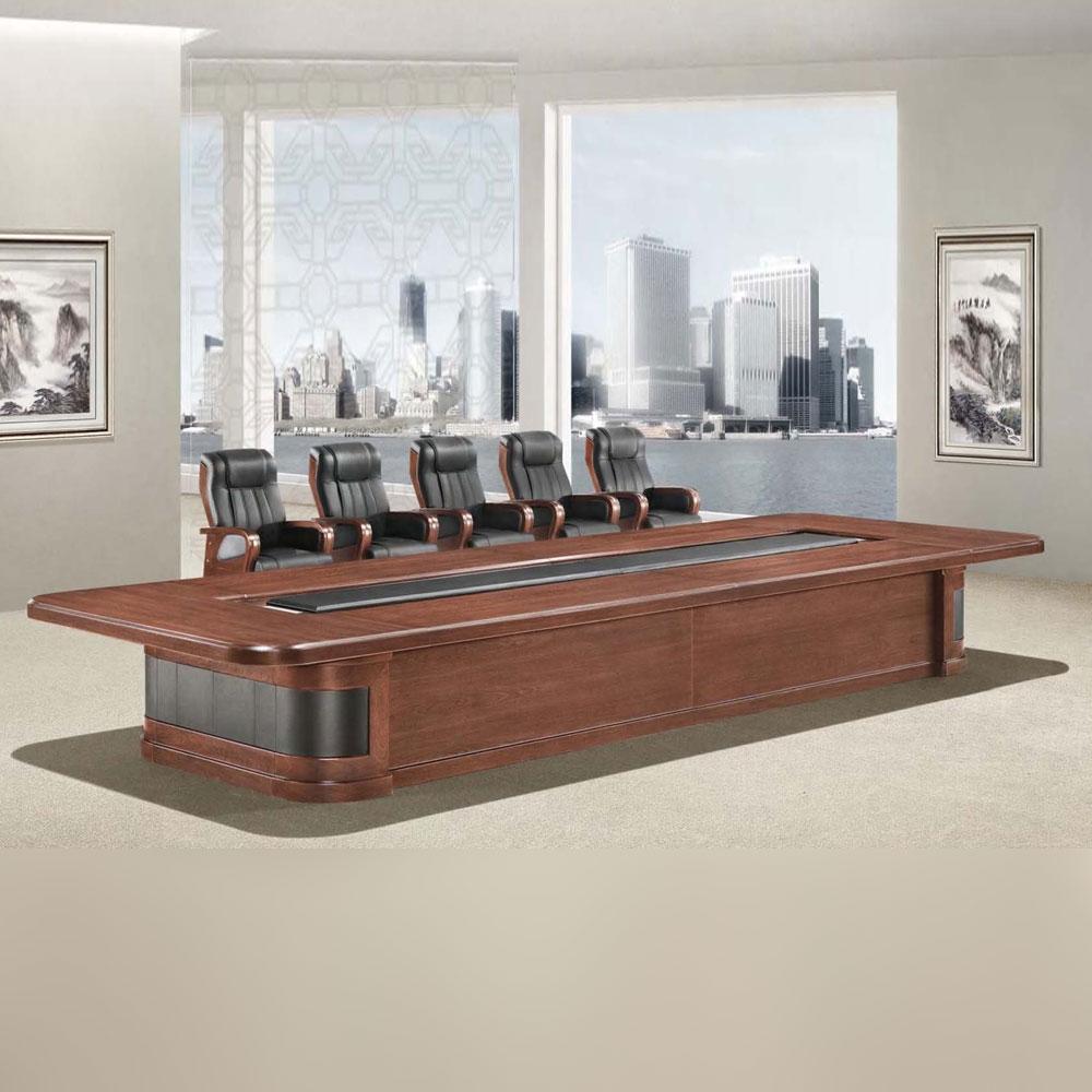 商务大型会议桌油漆会议台HYZ-05