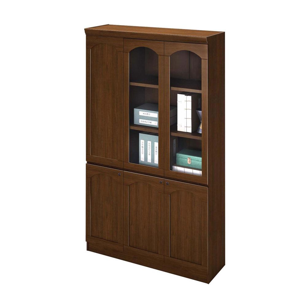 办公柜带玻璃书柜SG-13