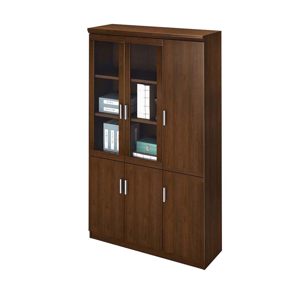现代办公柜带玻璃书柜SG-14
