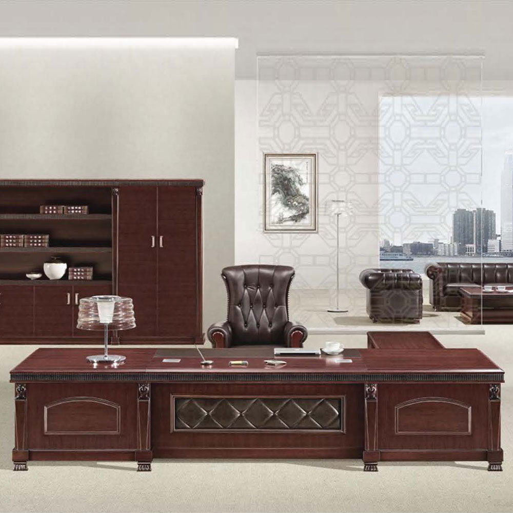 油漆大班台总裁办公桌 BT-01
