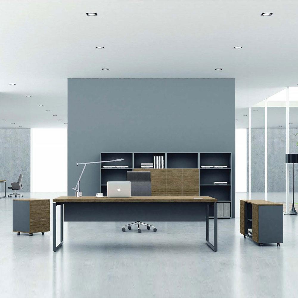 现代经理台老板桌价格优惠JLT-03