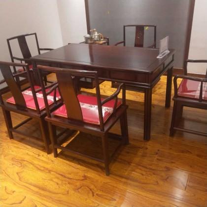 精品酸枝红木茶桌