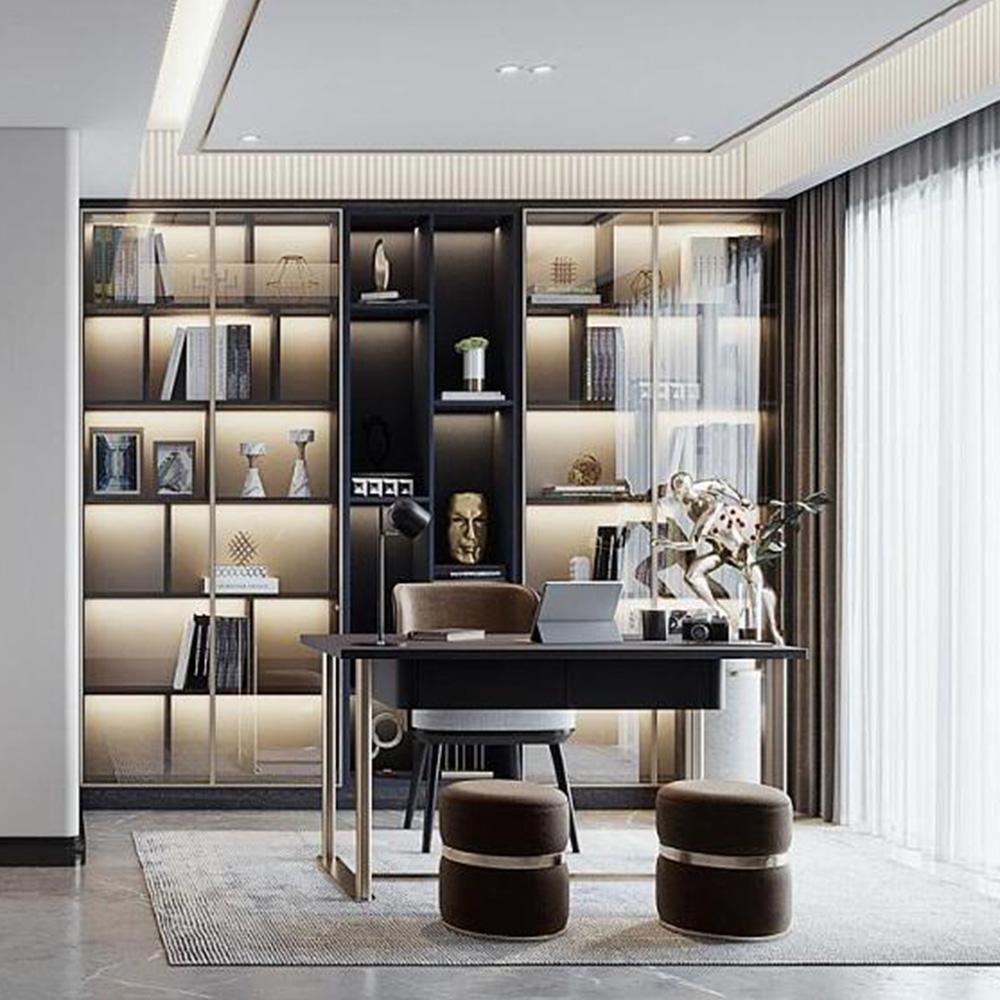 书房家具高端整体定制品牌 QWDZ-06