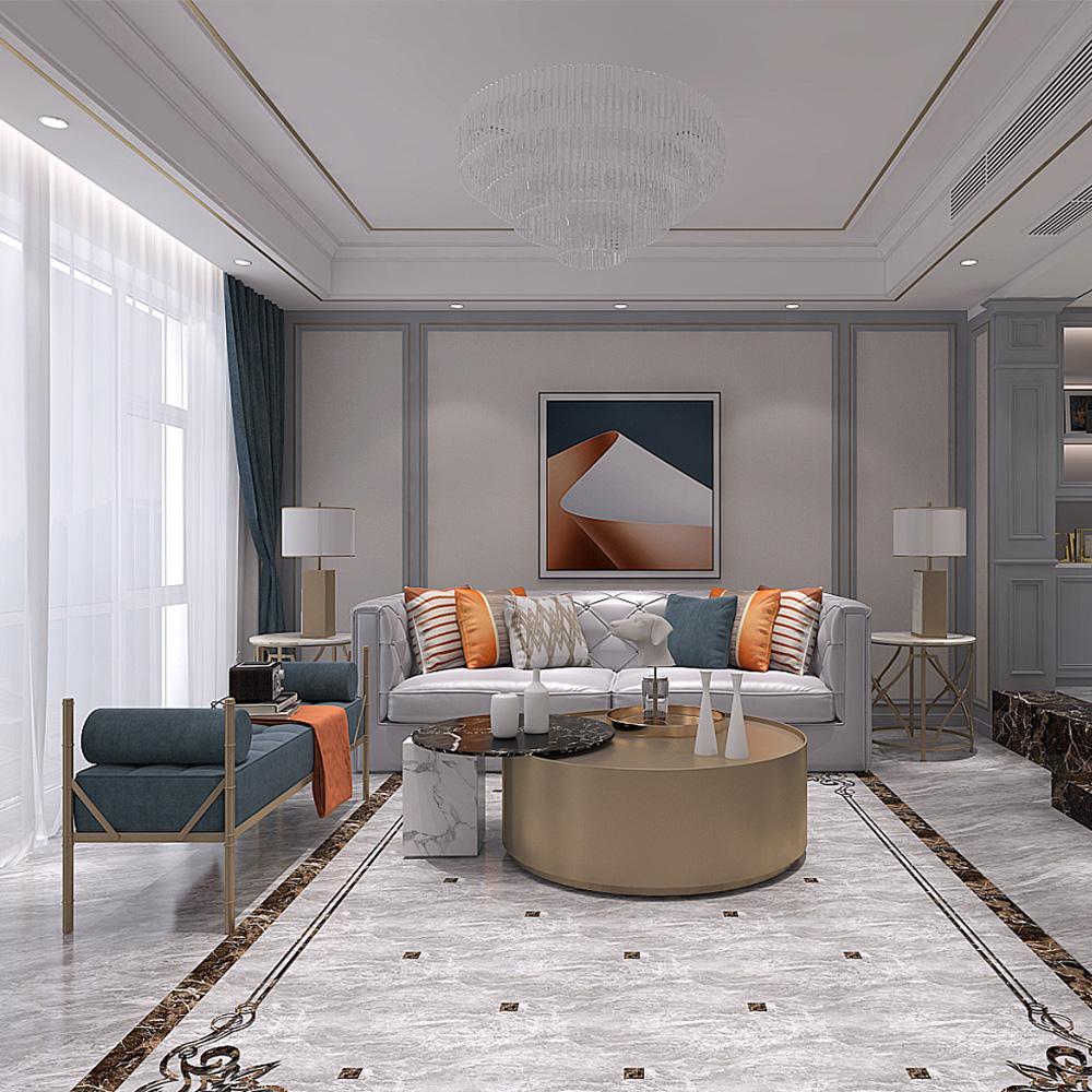 高端客厅沙发家具价格 QWDZ-14