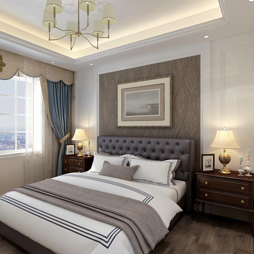 卧室双人床全屋定制家具 QWDZ-16