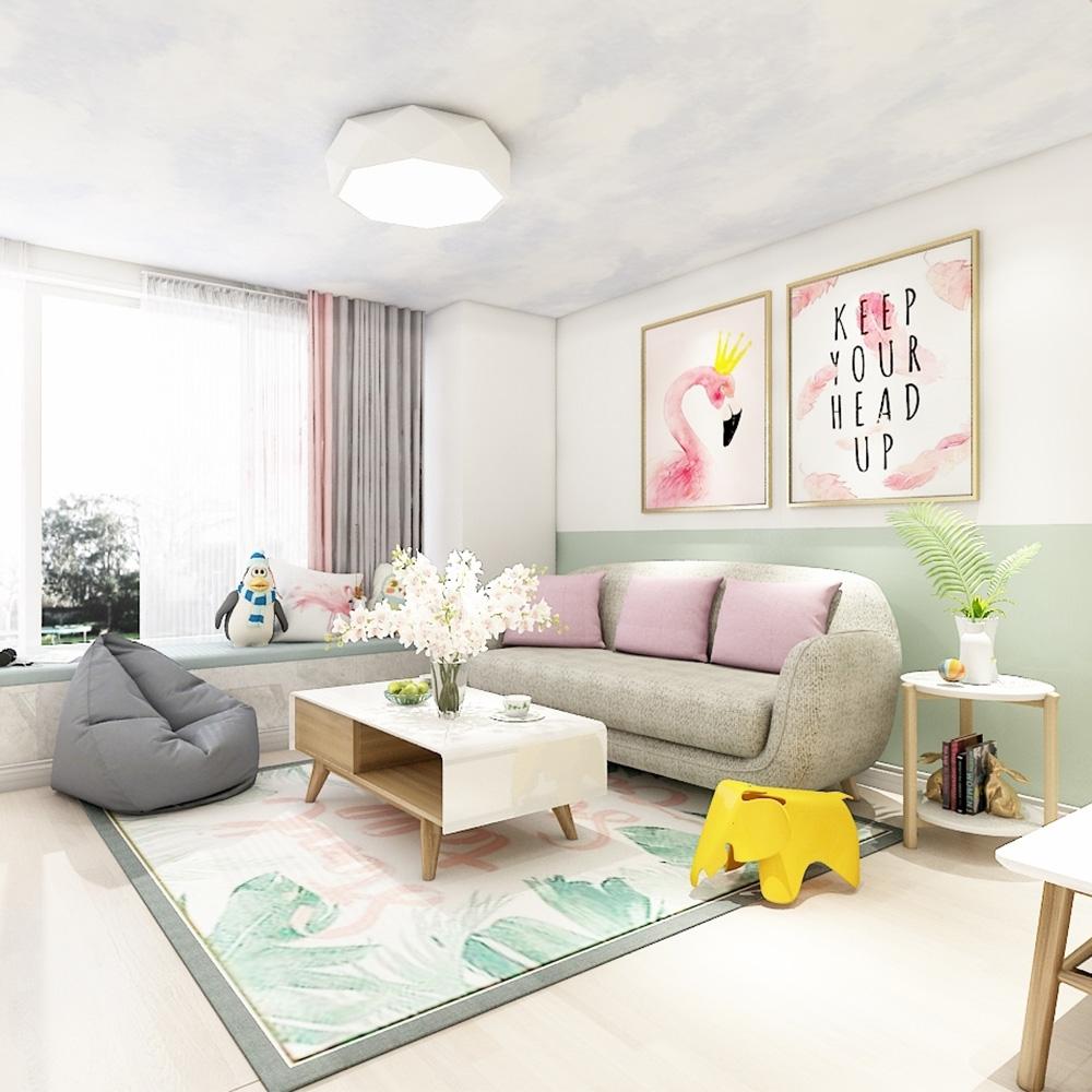 小户型现代简约客厅家具 QWDZ-24