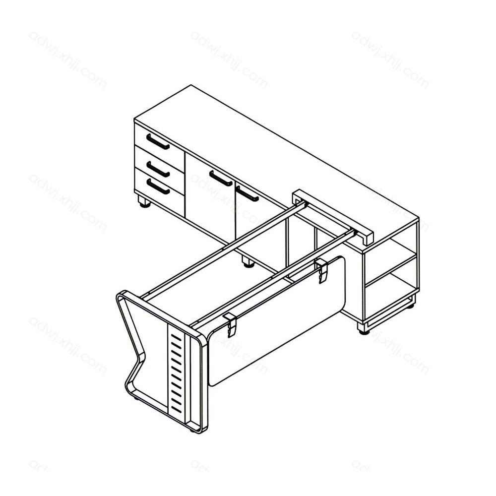 艾都家具五金经理桌架品牌JLTZJ-19