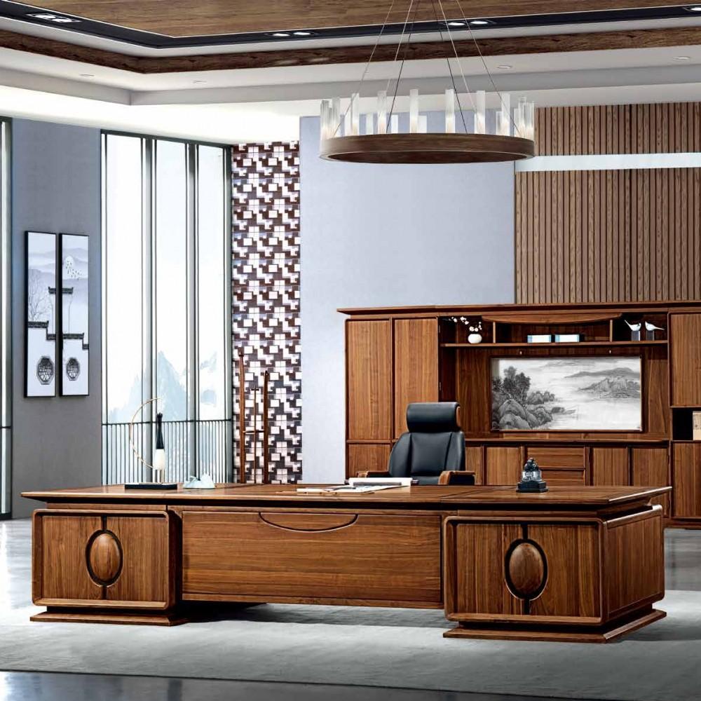 新中式班台办公家具DOBT-02