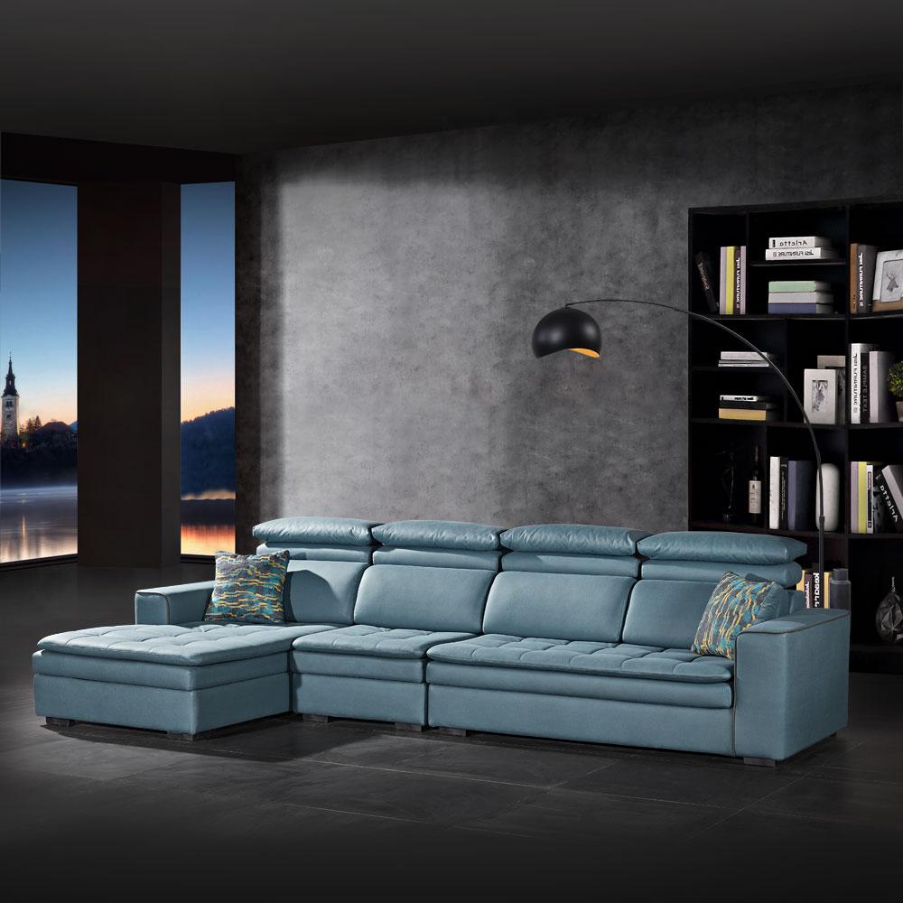 第五季A 科技皮沙发休闲沙发