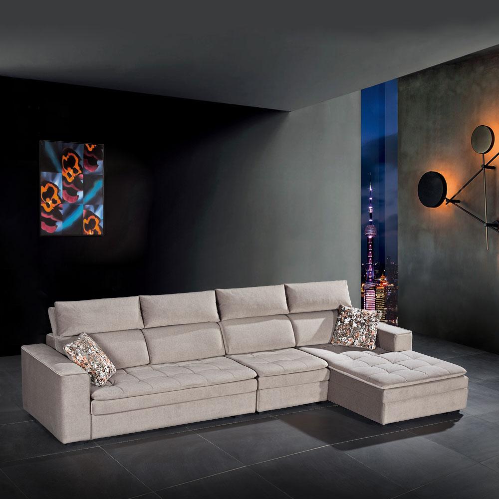 第五季D 厂家直销科技布休闲沙发