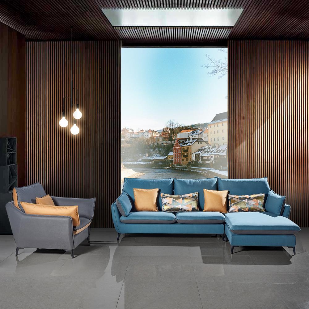 客厅休闲沙发组合转角