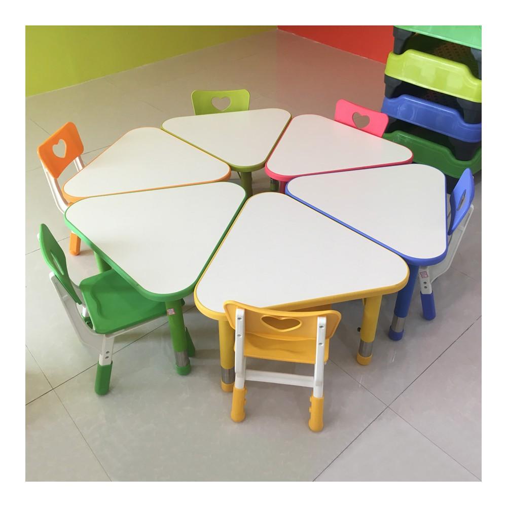 幼儿园可拼式三角桌 1