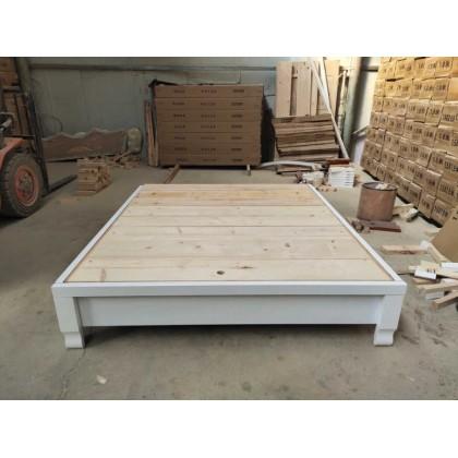 38厘米实木地暖箱白