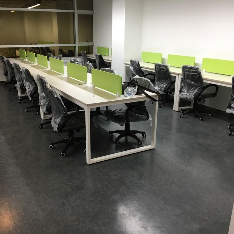 员工屏风工作位电脑桌