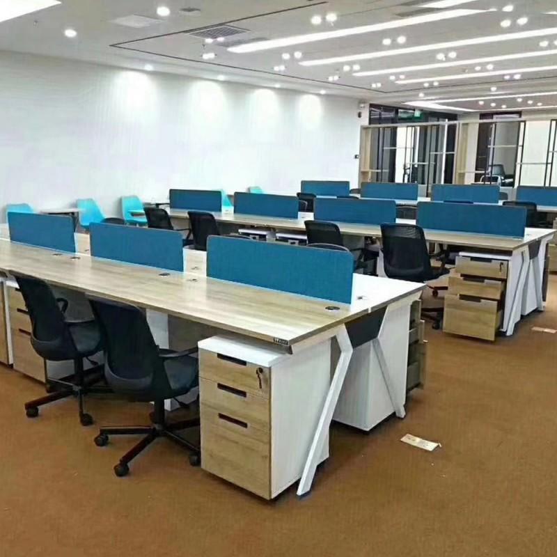 屏风工作位组合办公桌