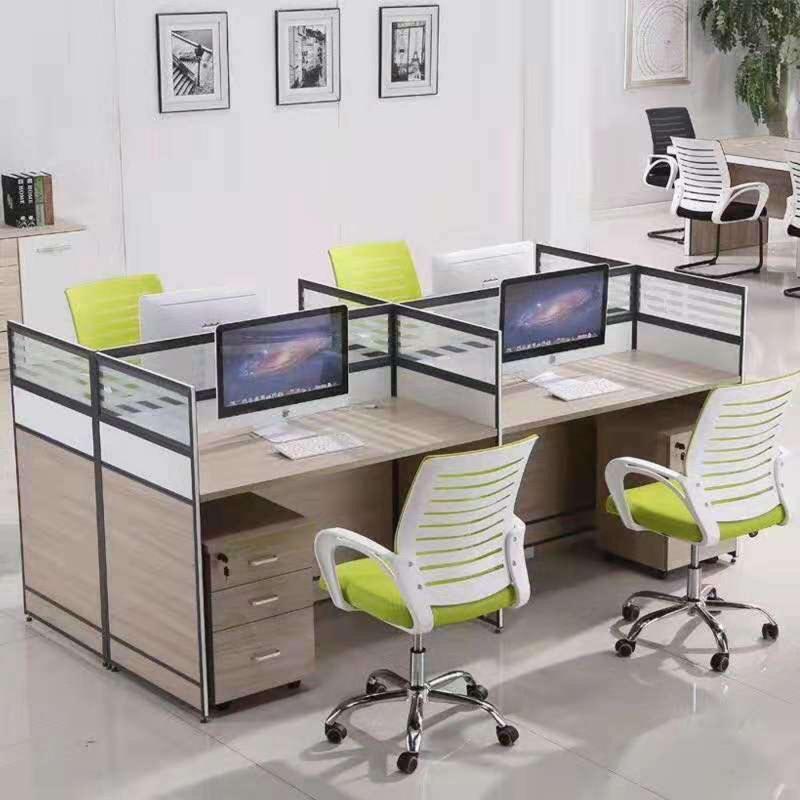现代工位办公桌屏风隔